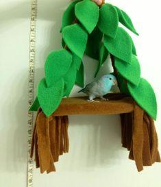 1000+ images about homemade bird toys on Pinterest | Bird toys ... #parrotcagediy