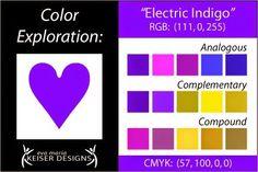 Explore Color: Electric Indigo (via Bloglovin.com )