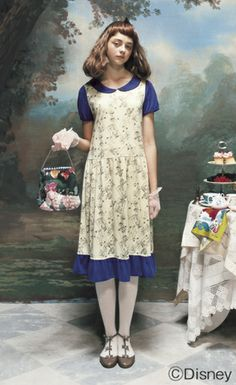 Alice inspired fashions by syrup ~ Japan