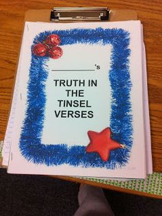 Using Truth in the Tinsel in homeschool!