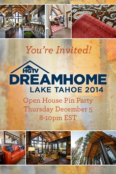 HGTV Dream Home 2014 Pinterest Party