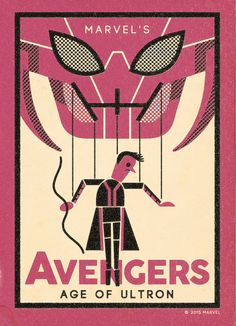 Avengers: Age of Ultron by Andrew Kolb / Tumblr