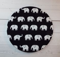 Elephants Mouse Pad mousepad mouse Mat  Rectangle or by Laa766  chic / cute / preppy / computer, desk accessories / cubical, office, home decor / co-worker, student gift / patterned design / match with coasters, wrist rests / computers and peripherals / feminine touches for the office / desk decor