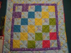 Baby Quilt made for a friend