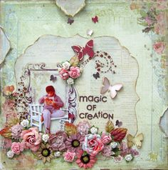 Magic of Creation - Scrapbook.com