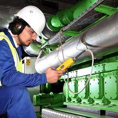 Engineer working in the Coca-Cola HBC plant in Romania #coca-cola #management