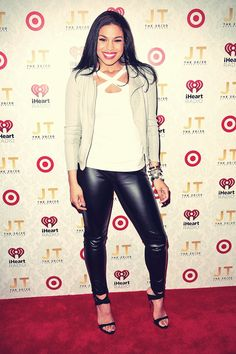 Jordin Sparks attends the iHeartRadio 2020 album release party ...