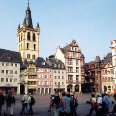 Hauptmarkt- Trier city square, Germany