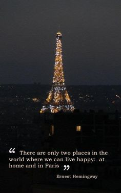 I'm leaning towards Paris! #happythoughts