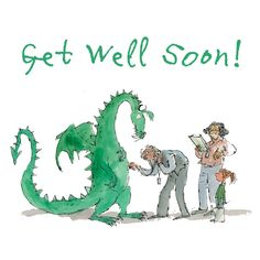 Send a Quentin Blake E-Card Quentin Blake Illustrations, Get Well Soon, E Cards, Greeting Cards, Make A Wish, Vintage Children, Cute Art, Book Lovers, Illustration Art