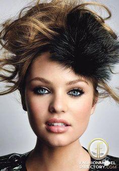 Candice Swanepoel Glamour Magazine