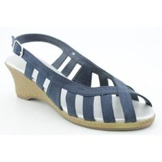 Espadrille Wedge, Annie, Espadrilles, Wedges, Navy, Shoes, Shopping, Fashion, Espadrilles Outfit