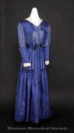 Dress ca. 1914-18. Montana Historical Society Pinterest board