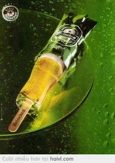Heineken ice cream
