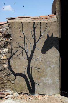 LA SOGA AL CIELO: Todas las islas lejos. Pan XI. Taller de arte urbano. (Con Alfredo Omaña). Piezas