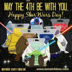 May the 4th be with you! #funny #scentsy #starwars