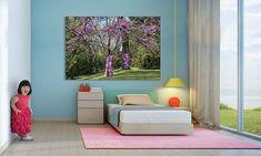 """Primavera"" una fotografía de Javier Aranburu.  #spring#trees#flowers#kidbedroom#decoideas#photodeco#fotodeautor#fotografíadeautor#primavera#happykid#bedroomideas#habitacioninfantil#interiorism"