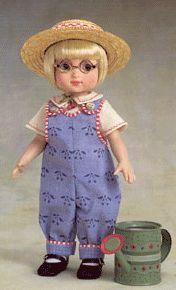 1999 Ann Estelle May Flowers  Dressed Doll