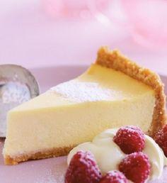 Αυθεντικό ψημένο cheesecake βανίλιας