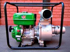 "Motobomba Para Agua 4"" / GWP-100 / Motor Gasolina – ChileRemates.cl"
