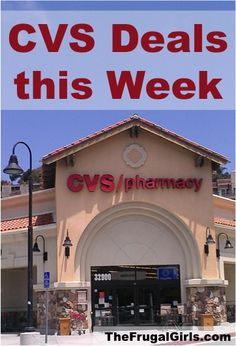 CVS Deals This Week thru 6.15