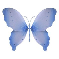 Sophia Butterfly Hanging Organza Nylon 3D Wall Decor
