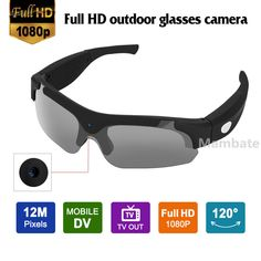 05e7e7200ff9 eBay  Sponsored 1080P Digital Camera Sunglasses HD Glasses Spy Eyewear DVR  Video Recorder Cam US