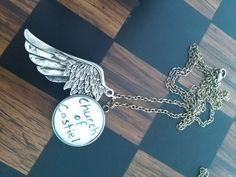 Supernatural Inspired 'Church of Castiel' Pendent Necklace by AriEagle on Etsy