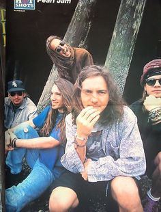 Pearl Jam - another early days shot