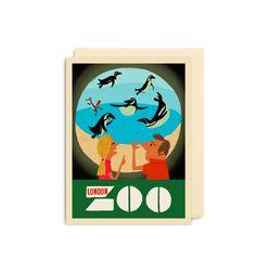 London Zoo Mini Card