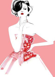 """Grace At Heart"" inspiration: Cristóbal Balenciaga, Harper's Bazaar UK, 1950"