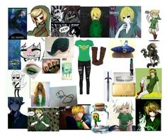 """BEN drowned"" by king-girl ❤ liked on Polyvore featuring Boohoo and Manic Panic"