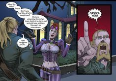Mythica issue 4 Pg 12