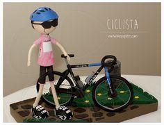 Fofucho ciclista personalizado #regalooriginal  www.mispupetes.com