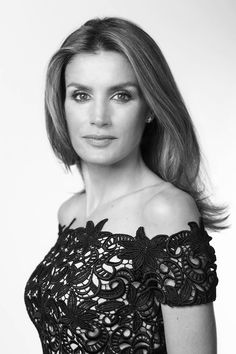 Princess Letizia of Spain..she's one of the most elegant modern princesses