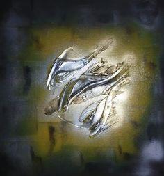 Nicole Sunitsch - Autorin - Hobbyautorin und Hobbykünstlerin: Neues Acrylbild auf Keilrahmen - Yellow Wave! Painting, Art, Canvas Frame, Wedges, Abstract, Art Background, Painting Art, Kunst, Paintings