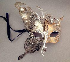 Máscara+de+bola+de+mascarada+de+lujo+Carnaval+por+Crafty4Party