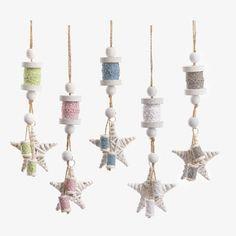 Κρεμαστά αστέρι - κουβαρίστρες - ΠΑΡΙΣΗΣ   Είδη γάμου & βάπτισης Ceiling Lights, Vintage, Pendant, Christmas, Home Decor, Xmas, Decoration Home, Room Decor, Hang Tags