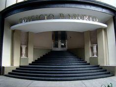 Art Deco architecture found in Edificio Basurto, Colonia Condesa