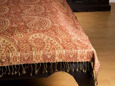 Monsooncraft.com - Paisley Double Bed Sheets and Bedspreads