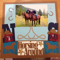 Horseback riding layout