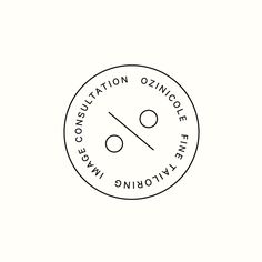 ON / Button Monogram designed by Richard Baird for tailor and image consultant Ozinicole.