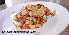 Cordon Bleu, Mets, Potato Salad, Pizza, Potatoes, Lunch, Ethnic Recipes, Pork, Lasagna