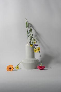 Photographer Olga Simonenko. Designs and produces Inge Simonis. Dutch ceramic design. Styling Joukje Wille