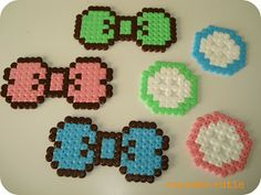 cupcake cutie: Fun with Hama Beads