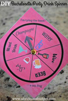 diy-bachelorette-party-drink-spinner.jpg (735×1102)