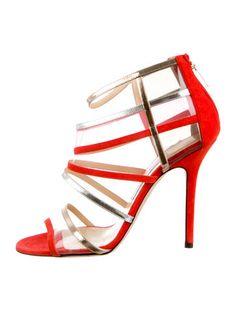 Jimmy Choo Multistrap Sandals