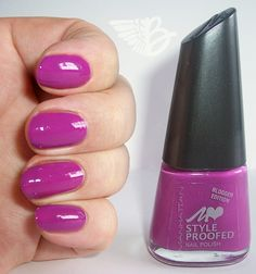 MANHATTAN Blogger Edition:STYLEPROOFED in der Farbe 03S - Pink Onion http://www.beangel-beautyblog.de/manhattan-blogger-edition-styleproofed-in-der-farbe-03s-pink-onion/  #Nagellack