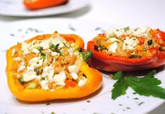 Bumble Bee Recipes - Mediterranean Stuffed Peppers