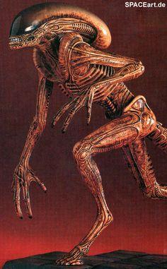Alien 3: Running Warrior, Modell-Bausatz ... http://spaceart.de/produkte/al038.php